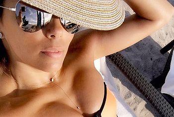 eva longoria naked selfie