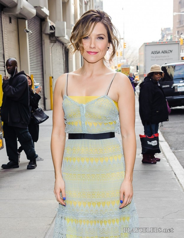 Sophia Bush See Through And Bikini Photos