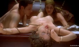 Alyssa Milano Nude Thresome Sex In Embrace of the Vampire