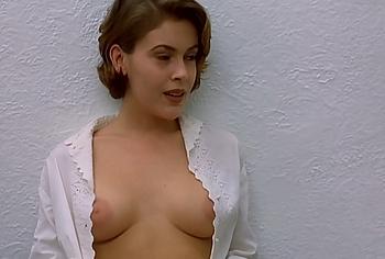 Alyssa Milano naked