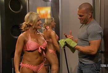Natalya Neidhart nudity