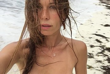 rhona mitra topless