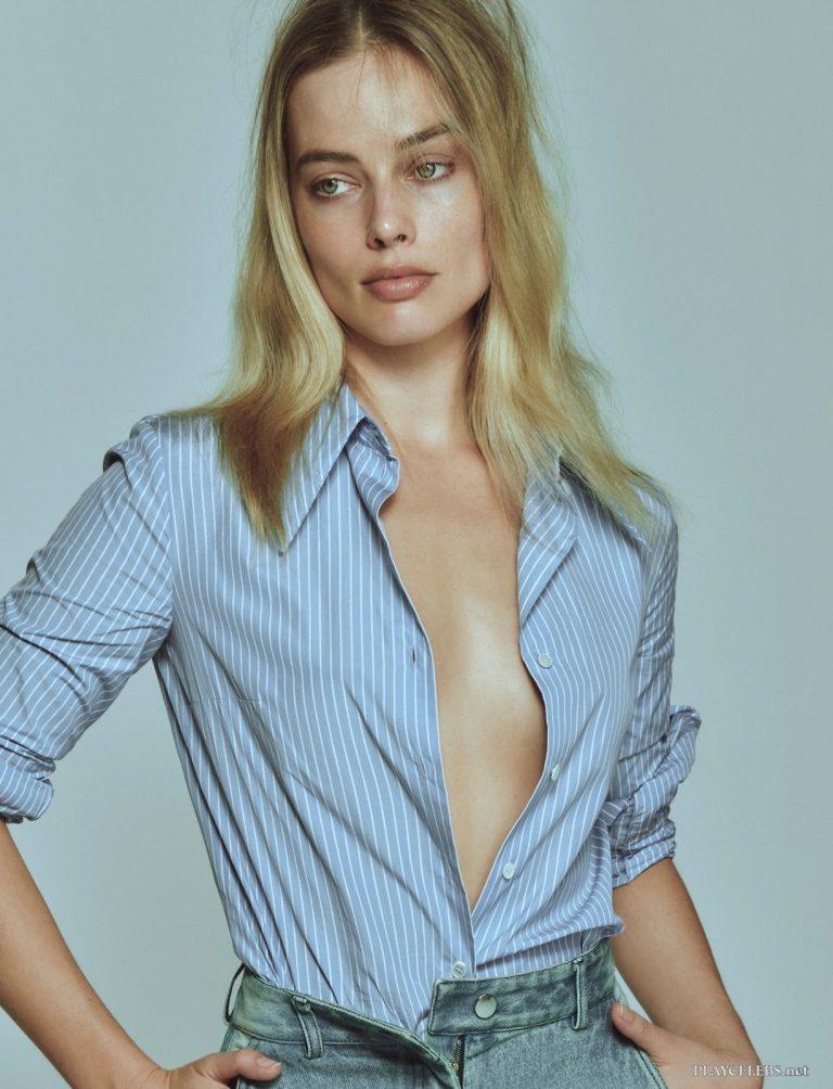 Margot Robbie Sexy For V Magazine Issue