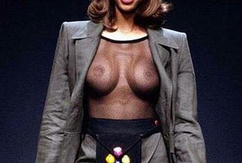 Tyra Banks nudity