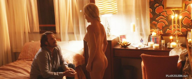 Angela Kinsey Nude Frontal In Half Magic