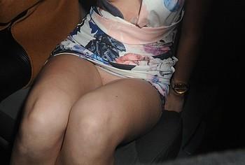 Megan Rees pussy upskirt