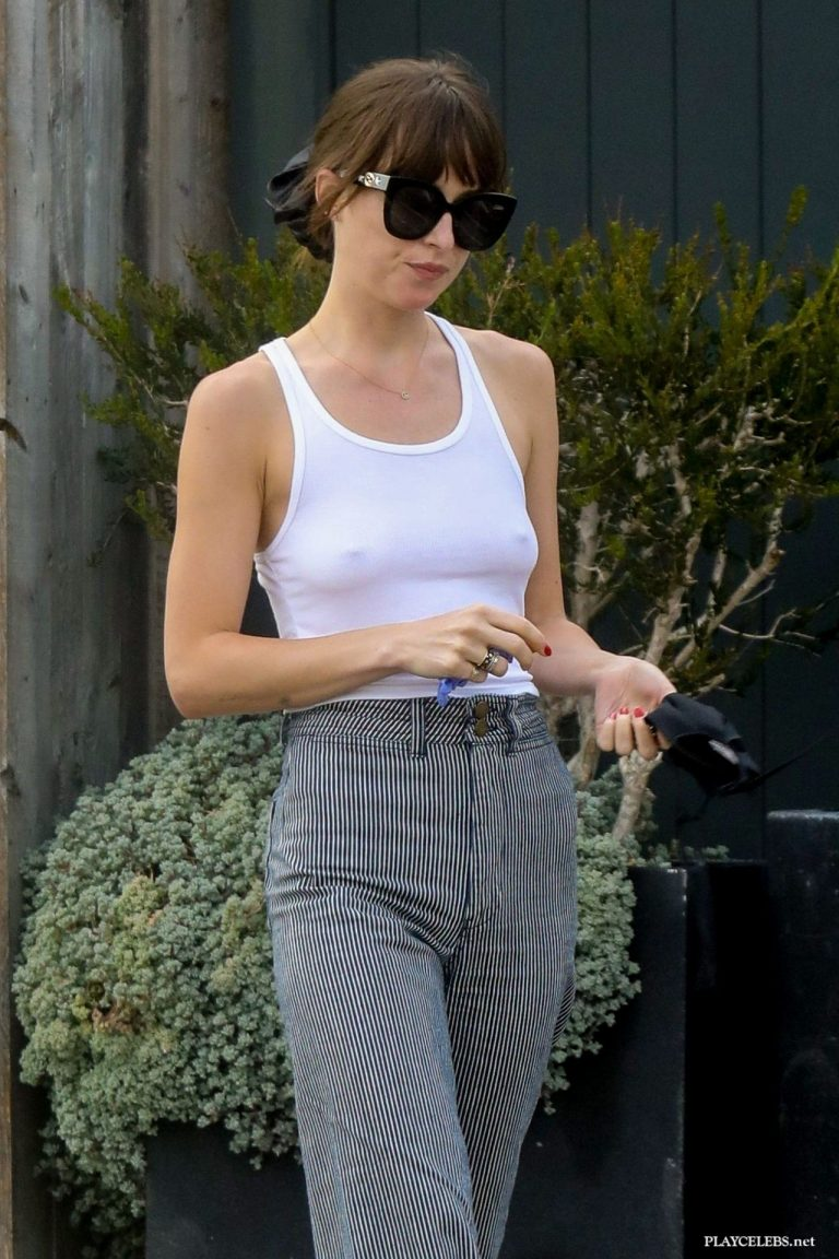 Read more about the article Dakota Johnson Hard Nipples Without Bra