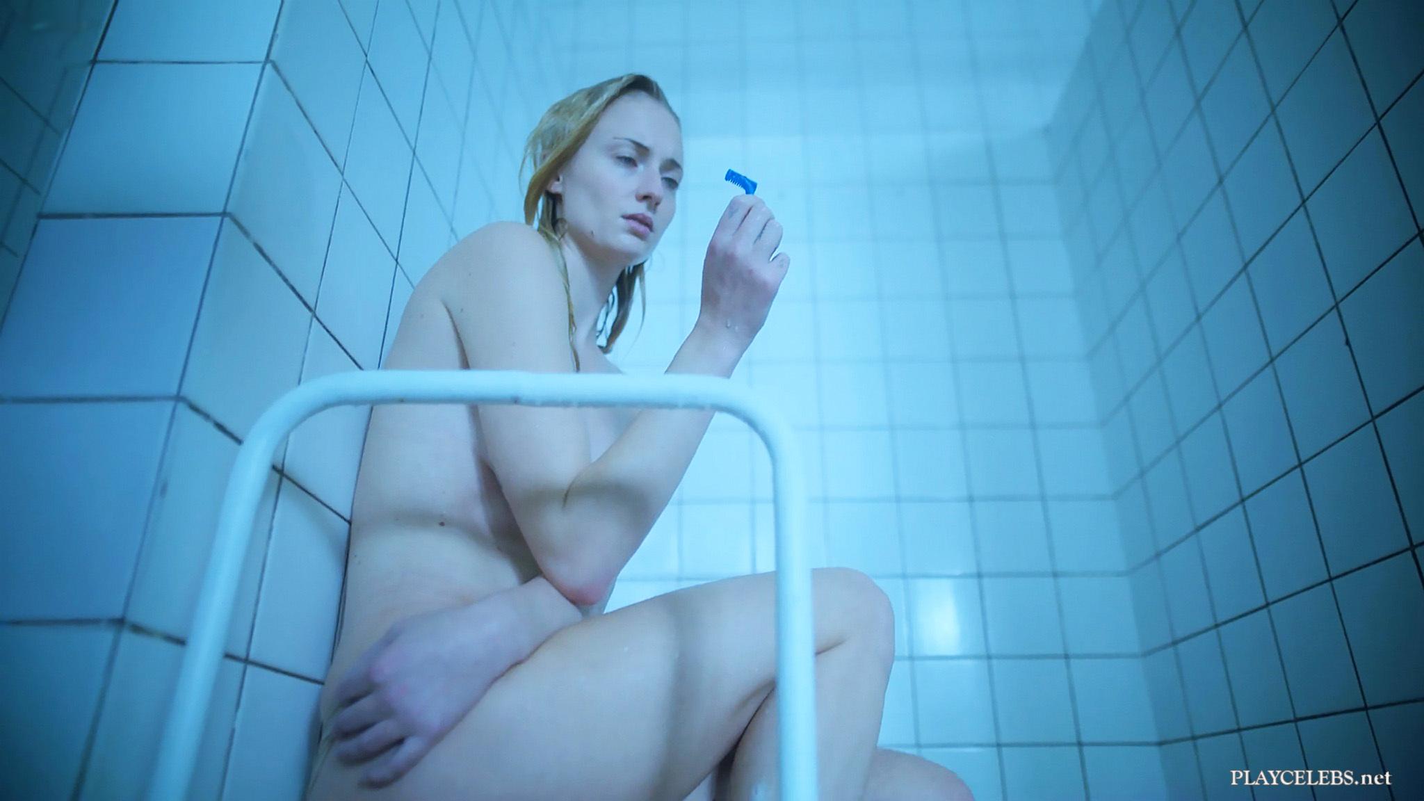 Sophie Turner Naked Shower Scenes In Survive 2020