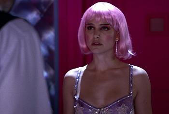 Natalie Portman lingerie