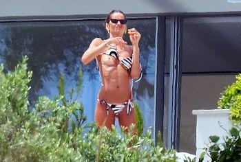 Izabel Goulart nude topless sex
