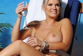 Kerry Katona naked