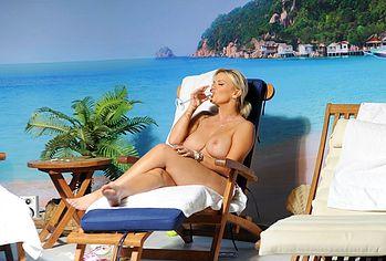 Kerry Katona topless