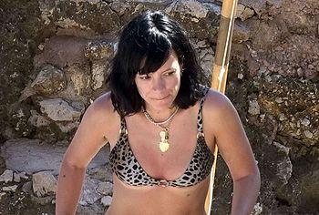Lily Allen bikini