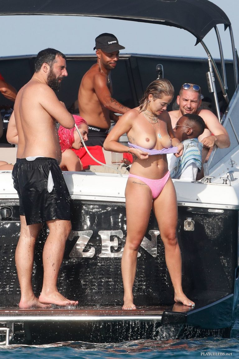 Rita Ora Paparazzi Topless & Bikini Photos