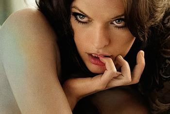 Milla Jovovich sexy photoshoots