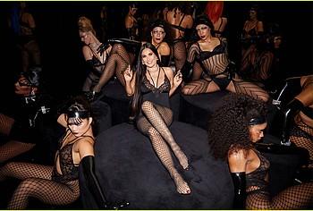 Demi Moore lingerie