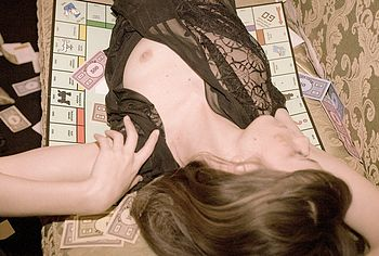 Stacy Martin nipslip