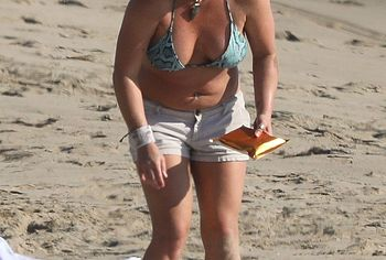 Britney Spears nipslip