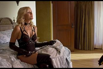 Malin Akerman lingerie