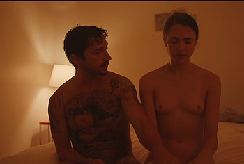 Margaret Qualley tits video