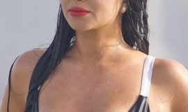 Tulisa Contostavlos Nipslip And Upskirt Photos