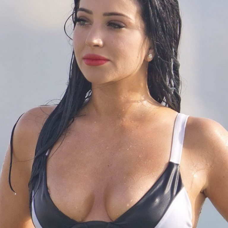 Tulisa Contostavlos Nipslip And Upskirt Photos