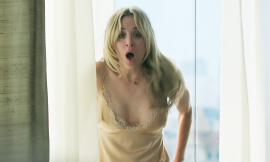 Kaley Cuoco Lingerie & Nude Shower In The Flight Attendant