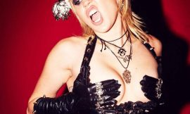 Miley Cyrus Naked & BDSM Outfit Photos