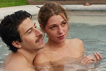 Mathilde Ollivier topless video