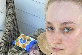 Dakota Fanning bikini selfie