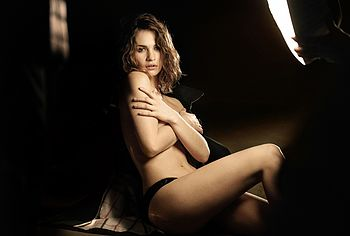 Lily James naked photos