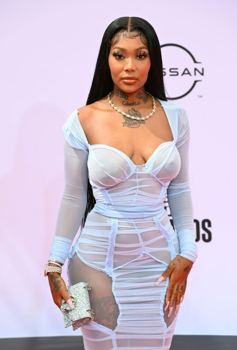 Summer Walker Shows Tits In Transparent Dress