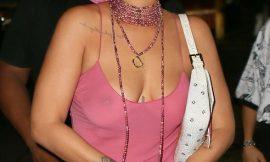 Rihanna Paparazzi See Through Tits Photos