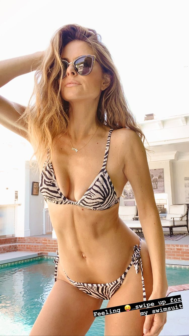 Read more about the article Maria Menounos Sexy Bikini And Cameltoe Selfie Pics